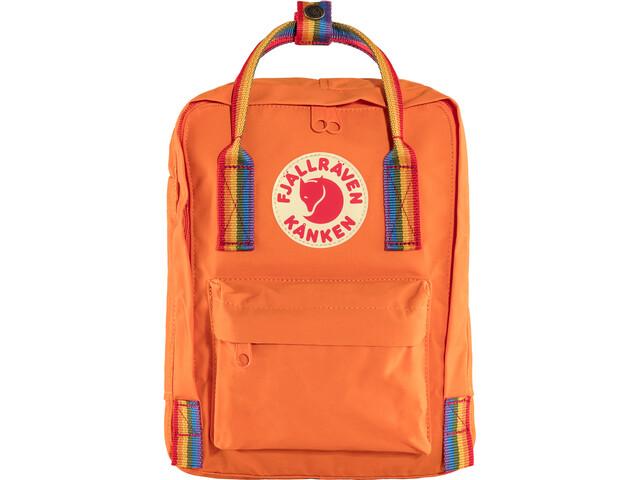 Fjällräven Kånken Rainbow Mini Rugzak Kinderen, burnt orange/rainbow pattern